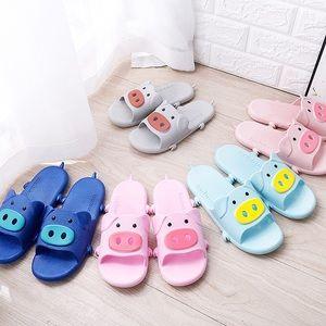 Shoes - 🐽Cute Piggy soft rubber Slide🐽